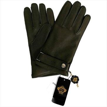 OROBIANCO オロビアンコ メンズ手袋 ORM-1404 Leather glove 羊革 ウール KHAKI サイズ:8(23cm) ギフト プレゼント クリスマス【ポイント10倍】【送料無料】【smtb-f】