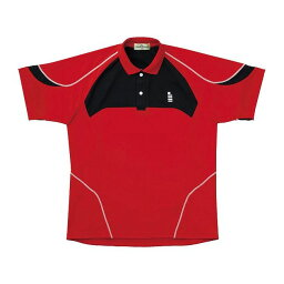 GOSEN(ゴーセン) T1402 ゲームシャツ T1402 【カラー】レッド 【サイズ】XL【送料無料】