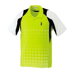 GOSEN(ゴーセン) T1412 ゲームシャツ T1412 【カラー】ライムグリーン 【サイズ】XL【送料無料】