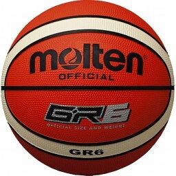 モルテン(Molten) バスケットボール6号球 GR6(オレンジ×アイボリー) BGR6OI
