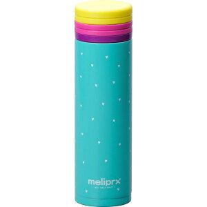 和平フレイズ メリプリハートステンレスボトル 300ml グリーン B2057668 水筒 保温 保冷