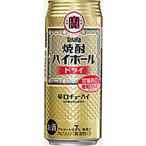 タカラ 宝 焼酎ハイボール ドライ 500ml×24本(代引き不可)【送料無料】