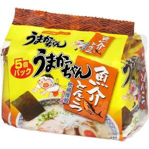 うまかっちゃん 魚介とんこつ 5個パック ハウス食品【RCP】