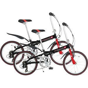 アルミ20型折りたたみ自転車 ペアセット SW-SK20AN+SW-SK20AN スウィツスポート()【送料無料】【smtb-f】 【送料無料】アルミ20型折りたたみ自転車 ペアセット SW-SK20AN+SW-SK20AN スウィツスポート