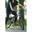 シボレー 20型折りたたみ自転車 73123R ジェットブラック(代引不可)【送料無料】【smtb-f】