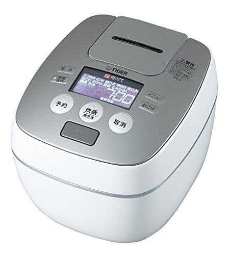 TIGER タイガー 圧力IH炊飯ジャー 炊飯器 炊きたて 1升炊き JPB-G180-WL ラスターホワイト