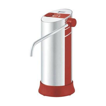 日本ガイシ ファインセラミック浄水器 C1(シーワン) スタンダードタイプ ワインレッド 浄水器 家庭用浄水機 据置型【送料無料】