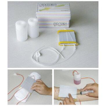 富双ゴム工業 装着型採血静脈注射トレーニングセット KAREN 交換部品 交換用模擬血管付パッド(1コ)