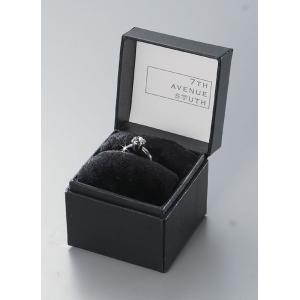 7TH AVENUE SOUTH 指輪型チャーム付タオルハンカチ(Basic Collection) 12個 JT-1011(BK・クリスタ...