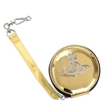 ヴィヴィアン ウエストウッド VIVIENNE WESTWOOD 小銭入れ コインケース 51070016 ROUND COIN CASE GOLD GO【送料無料】