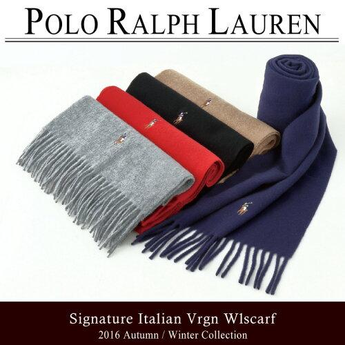 ポロ・ラルフローレン マフラー POLO RALPH LAUREN ポロラルフローレン シグネチャー イタリアン 6...