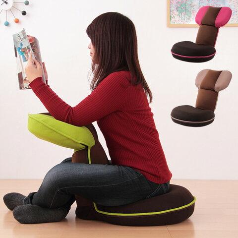ゲーミング座椅子 座椅子 ゲーミングチェア ゲーム game 座いす ストレッチ リクライニング 背中 背筋 腰 姿勢 猫背 骨盤 読書 チェア chair Pit!【ピット!】【送料無料】