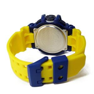 カシオGショックG-SHOCKクオーツメンズ腕時計GA-400-9Bイエロー/ネイビー【送料無料】【_包装】