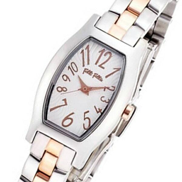 フォリフォリ デビュタント クオーツ レディース 腕時計 WF8T026BPZ シルバー【送料無料】