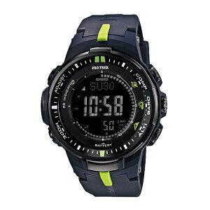 カシオCASIOプロトレック電波タフソーラーメンズ腕時計PRW-3000-2ネイビー【送料無料】【_包装】