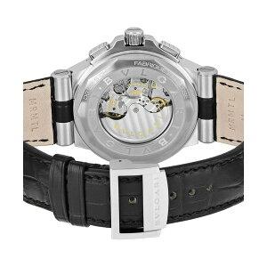 ブルガリディアゴノカリブロ303クロノ自動巻きメンズ腕時計DG42BSLDCH【送料無料】【楽ギフ_包装】