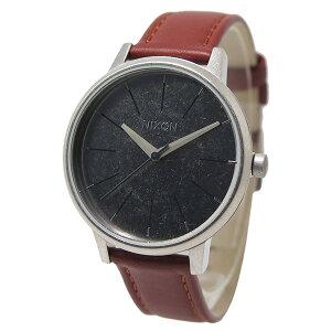 ニクソンNIXONケンジントンレザークオーツレディース腕時計A108747ブラック【送料無料】【_包装】