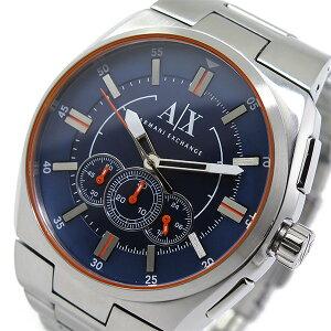 アルマーニエクスチェンジクオーツクロノメンズ腕時計AX1800ネイビー【送料無料】【_包装】