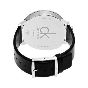 カルバンクラインエクセプショナルメンズ腕時計CLK3Z211C1ブラック【送料無料】【_包装】