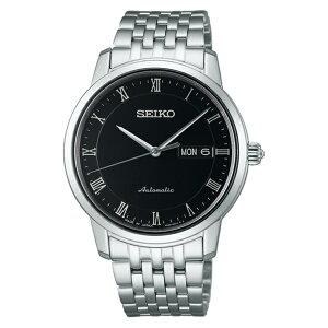 セイコーSEIKOプレザージュ自動巻きメンズ腕時計SARY061ブラック国内正規【送料無料】【_包装】