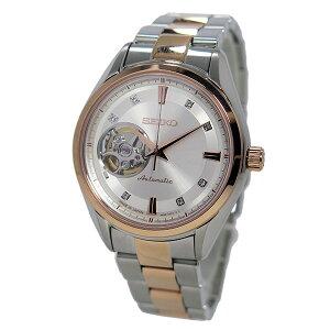 セイコーSEIKOプレサージュ自動巻きメンズ腕時計SSA866J1ホワイト【送料無料】【_包装】