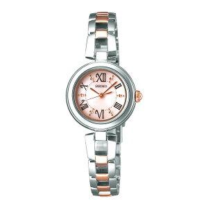 セイコーSEIKOティセソーラーレディース腕時計SWFA153ピンク国内正規【送料無料】【_包装】