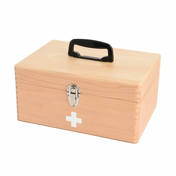 木製救急箱 日本製 048300 ナチュラル【S1】
