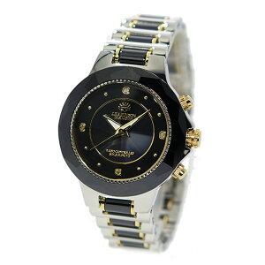 ジョンハリソンソーラー電波時計レディース腕時計JH-024LBB【送料無料】【_包装】