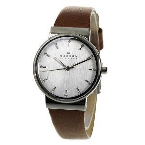 スカーゲンSKAGENアンカークオーツレディース腕時計SKW2192シルバー【送料無料】【_包装】