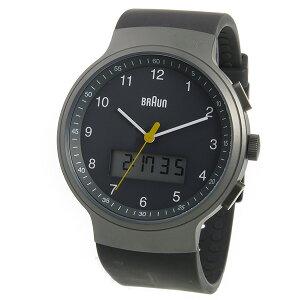ブラウンBRAUNクオーツメンズ腕時計BN0159GYGYGグレー【送料無料】【_包装】