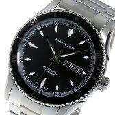ハミルトン ジャズマスター シービュー 自動巻き メンズ 腕時計 H37565131 ブラック【送料無料】【楽ギフ_包装】