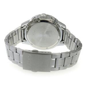 セイコーSEIKOクオーツクロノメンズ腕時計SKS527P1ブラック【送料無料】【_包装】