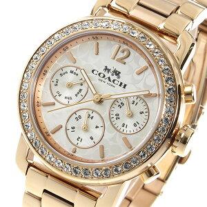 コーチCOACHクオーツレディース腕時計14502371ピンクゴールド【送料無料】【_包装】