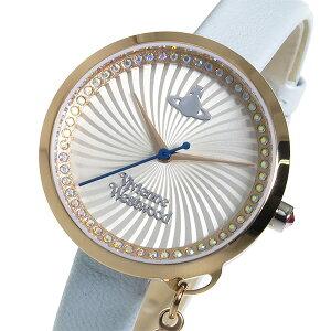 ヴィヴィアンウエストウッドボウクオーツレディース腕時計VV139RSBLシルバー【送料無料】【_包装】