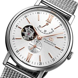 オリエントオリエントスター自動巻きメンズ腕時計WZ0311DKシルバー国内正規【送料無料】【_包装】