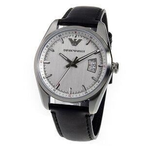 エンポリオアルマーニEMPORIOARMANIクオーツメンズ腕時計AR6015シルバー【送料無料】【_包装】