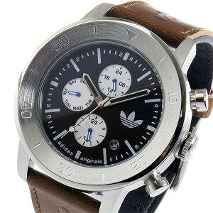 アディダスADIDASマンチェスタークオーツメンズ腕時計ADH3097ブラック【送料無料】【_包装】