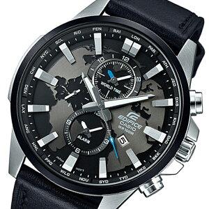 カシオCASIOエディフィスEDIFICEクオーツメンズ腕時計EFR-303L-1Aブラック【送料無料】【_包装】