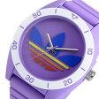 アディダス ADIDAS サンティアゴ クオーツ メンズ 腕時計 時計 ADH9066 パープル【楽ギフ_包装】