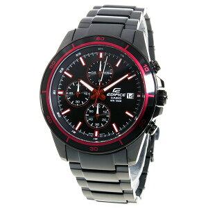 カシオエディフィスクロノクオーツメンズ腕時計EFR-526BK-1A4Vブラック【送料無料】【_包装】