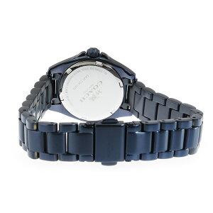 コーチCOACHトリステンミニTRISTENMINIクオーツレディース腕時計14502345メタリックブルー【送料無料】【_包装】