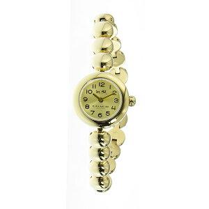 コーチCOACHリヴェットRIVETスタッズドブレスレットクオーツレディース腕時計14502391ゴールド【送料無料】【_包装】