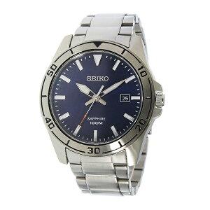 セイコーSEIKOクオーツメンズ腕時計SGEH61P1ネイビー【送料無料】【_包装】