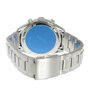 セイコーSEIKOクロノクオーツメンズ腕時計SSB223P1ネイビー【送料無料】【_包装】