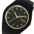 アイスウォッチ ICE WATCH アイスグリッター ユニセックス 腕時計 ICE.GT.BBK.U.S.15 ブラック【楽ギフ_包装】