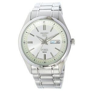 セイコーSEIKOセイコー5自動巻きメンズ腕時計SNKN85Jホワイトシルバー【送料無料】【_包装】