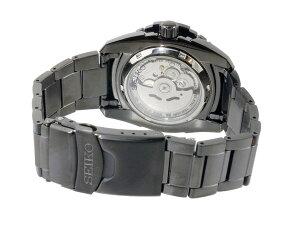 セイコーSEIKOセイコー5スポーツSPORTS自動巻きメンズ腕時計SNZJ11K1ブラック【送料無料】【_包装】