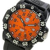 ルミノックス LUMINOX スコット・キャセル スペシャルエディション メンズ 腕時計 3059SET オレンジ【送料無料】【楽ギフ_包装】