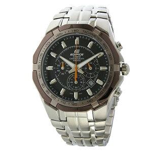 カシオCASIOエディフィスEDIFICEクロノクオーツメンズ腕時計EF-540D-1A5ブラック【送料無料】【_包装】