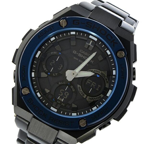 CASIO G-SHOCK black watch CASIO G G-SHOCK G G-ST...